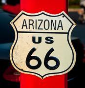 Reitti 66 merkki, Arizona, USA Piirros