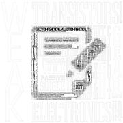 Typography picture - stock illustration