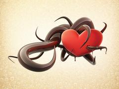 Heart - stock illustration