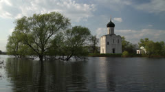 Russian Church 02 Stock Footage