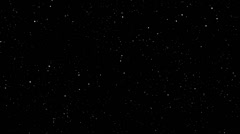 Simple star / space background effect - stock footage