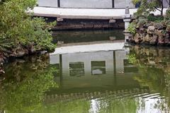 Garden of humble administrator ancient chinese house reflection china Stock Photos