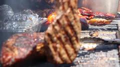 BBQ Grill 51805 Stock Footage