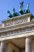 Stock Photo of Brandenburg Gate in Berlin