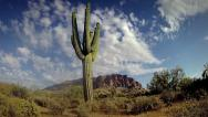 Stock Video Footage of Time-lapse of the Superstition Mountains in Arizona, USA.