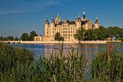 castle in schwerin - stock photo