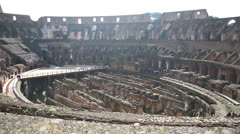 Colosseum Arena Stock Footage