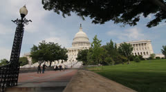 United States Capitol - stock footage