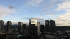 City Time Lapse - Bellevue, WA 1 - stock footage