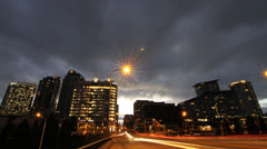 Time lapse Bellevue, WA 4 Stock Footage