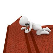 Roofers Stock Illustration