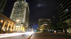 Time lapse Bellevue, WA 7 Stock Footage