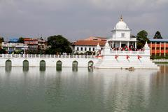 Travel Nepal: Hindu temppeli Kathmandu Kuvituskuvat