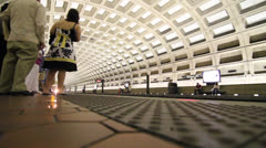 Washington DC Metro - stock footage