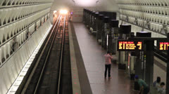Washington DC Metro 2 - stock footage