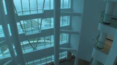 Hilton Hotel Lobby Stock Footage