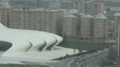 Baku Cultural Center Stock Footage