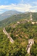 The great wall - stock photo