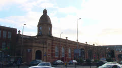 Leicester Railway Station - stock footage