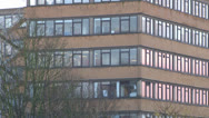 Stock Video Footage of Office Block Building