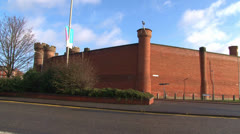 Leicester Prison Stock Footage