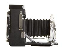 Old Press Camera - stock photo