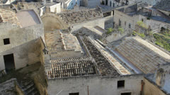 Matera in Italy Stock Footage