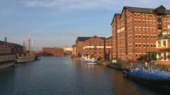 Gloucester Docks Stock Footage