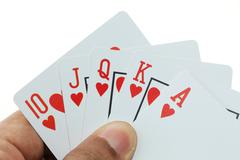 gambling scenes - stock photo