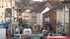 Ross-on-Wye Commercial Street Stock Footage