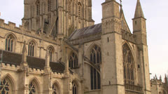 Gloucester Cathedral Stock Footage