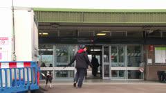 Tamworth Station Stock Footage