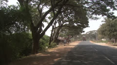 India's road Stock Footage