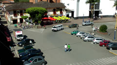 Parking Lots, Parked Cars, Shopping Stock Footage