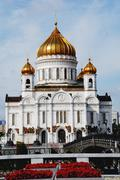 Cathedral of christ the savior Stock Photos