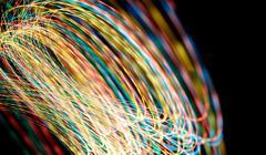 Swirling light Stock Photos