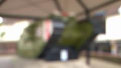 Mk IV First World War Tank Stock Footage
