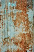 texture rusty iron plate - stock photo