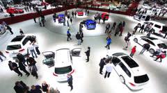 Geneva Motor Show 2012 Stock Footage
