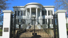 Governor's Mansion - stock footage