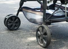 stroller for baby - stock photo