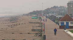 Bexhill Beach Stock Footage