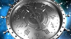 Silver Zodiac Gadget Stock Footage