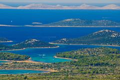 kornati national park paradise archipelago - stock photo