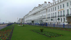 Eastbourne Grand Parade Stock Footage