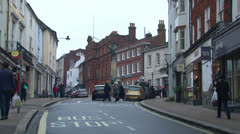 Lewes Town Centre Stock Footage