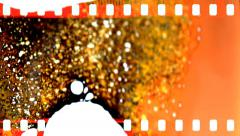 Film damage. Stock Footage