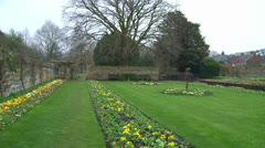 Southover Grange Gardens Stock Footage