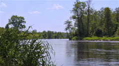 River view. Stock Footage
