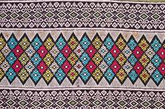 Handmade textile Stock Photos
